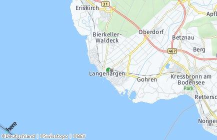 Stadtplan Langenargen