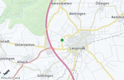 Stadtplan Langenau