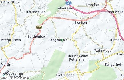 Stadtplan Langenbach (Pfalz)