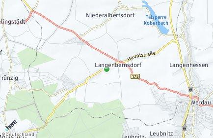 Stadtplan Langenbernsdorf