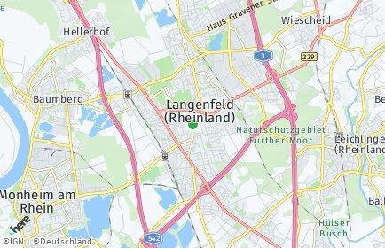 Stadtplan Langenfeld (Rheinland)
