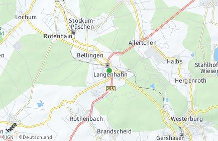 Stadtplan Langenhahn
