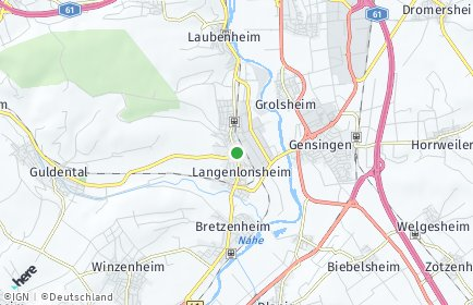 Stadtplan Langenlonsheim