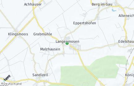 Stadtplan Langenmosen