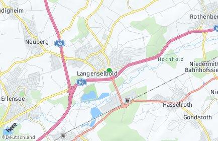 Stadtplan Langenselbold