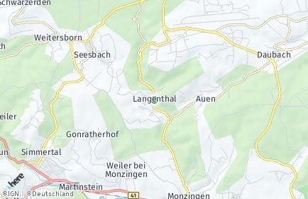 Stadtplan Langenthal