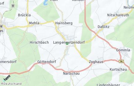 Stadtplan Langenwetzendorf