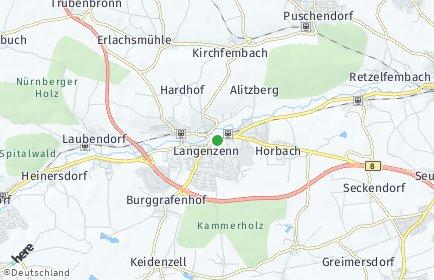 Stadtplan Langenzenn