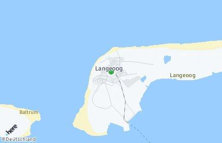 Stadtplan Langeoog