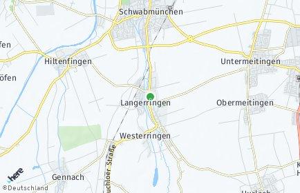Stadtplan Langerringen