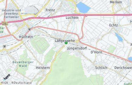 Stadtplan Langerwehe