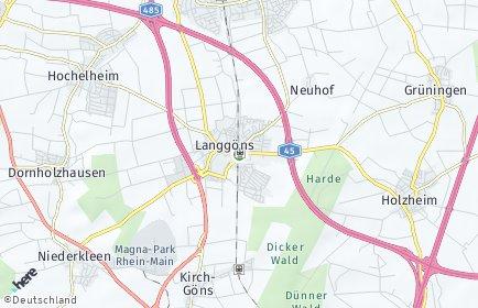 Stadtplan Langgöns