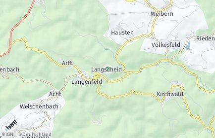 Stadtplan Langscheid