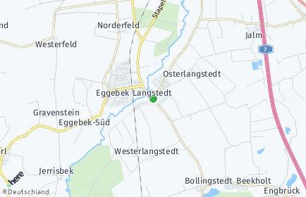 Stadtplan Langstedt