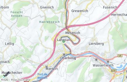Stadtplan Langsur