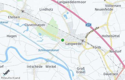 Stadtplan Langwedel (Weser)