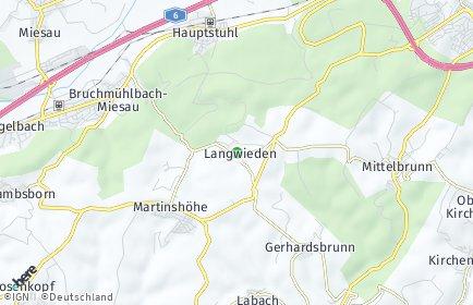 Stadtplan Langwieden