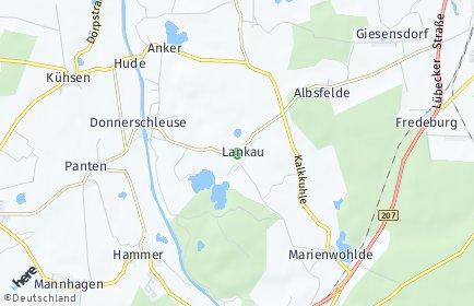 Stadtplan Lankau