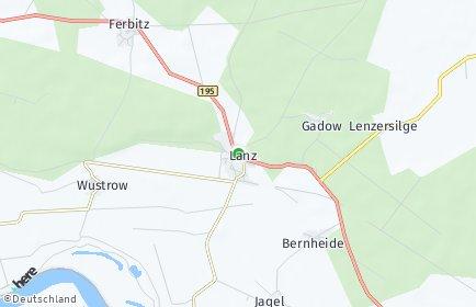 Stadtplan Lanz (Prignitz)