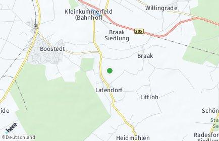 Stadtplan Latendorf