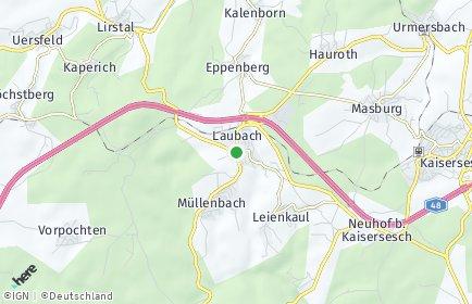 Stadtplan Laubach (Eifel)