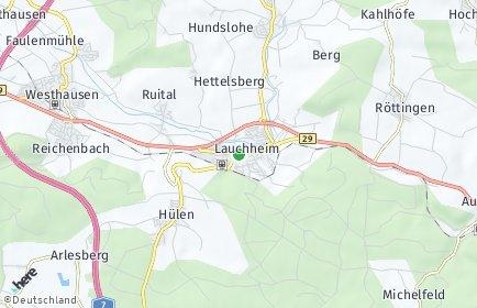 Stadtplan Lauchheim