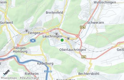 Stadtplan Lauchringen