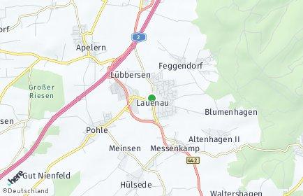 Stadtplan Lauenau