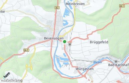 Stadtplan Lauenförde