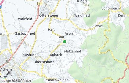 Stadtplan Lauf (Baden)