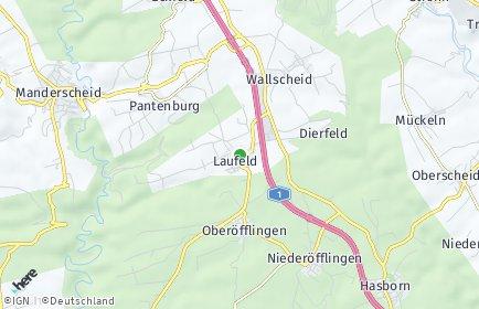 Stadtplan Laufeld