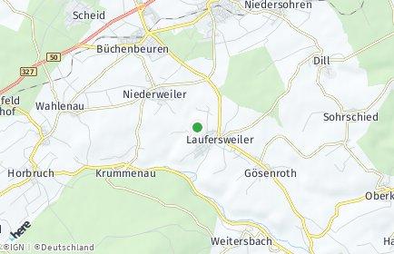 Stadtplan Laufersweiler