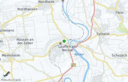 Stadtplan Lauffen am Neckar