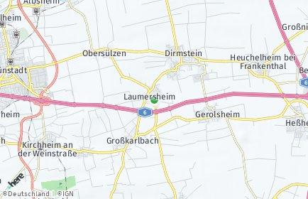 Stadtplan Laumersheim