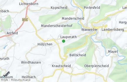 Stadtplan Lauperath
