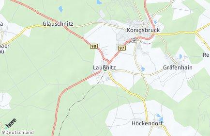 Stadtplan Laußnitz