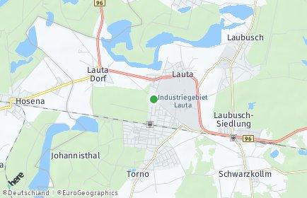 Stadtplan Lauta