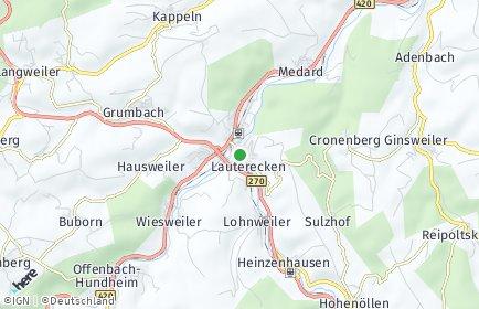 Stadtplan Lauterecken