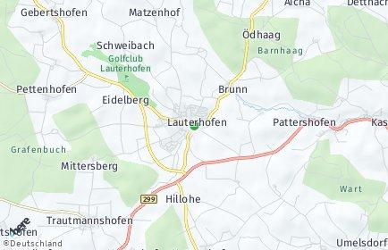 Stadtplan Lauterhofen