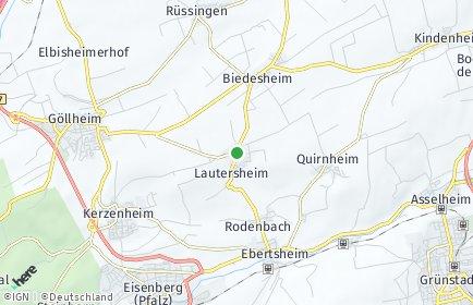 Stadtplan Lautersheim