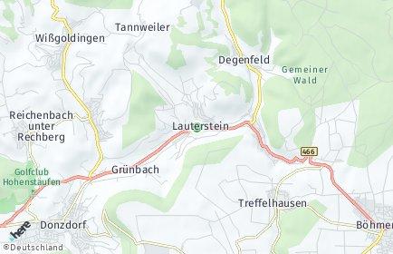 Stadtplan Lauterstein