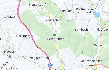 Stadtplan Lautertal (Oberfranken)