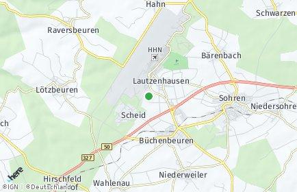 Stadtplan Lautzenhausen