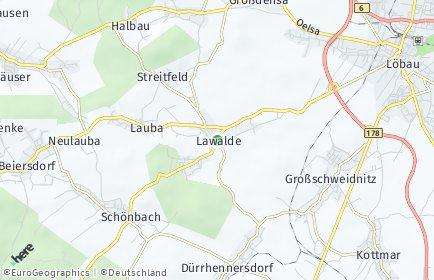 Stadtplan Lawalde