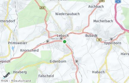 Stadtplan Lebach