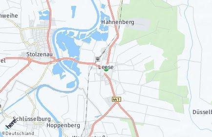 Stadtplan Leese