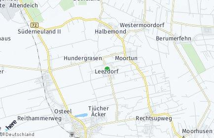 Stadtplan Leezdorf