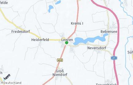 Stadtplan Leezen (Holstein)