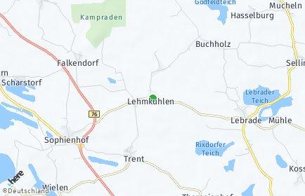 Stadtplan Lehmkuhlen