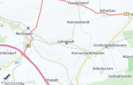 Stadtplan Lehnstedt